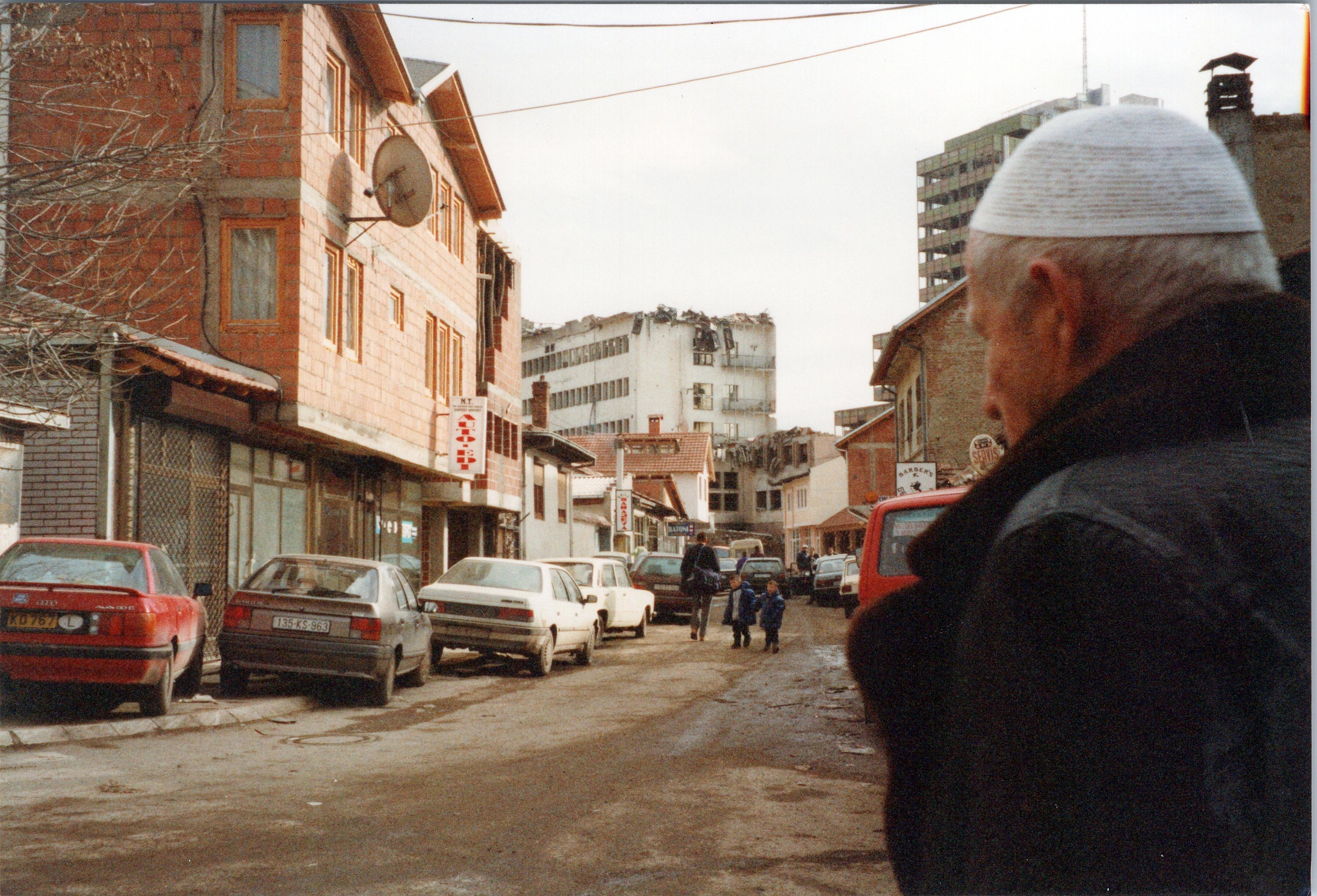 Kosovo Street Scene, March 2020