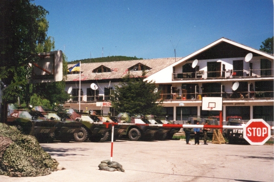 Brezovica ski resort, Kosovo, summer 2000